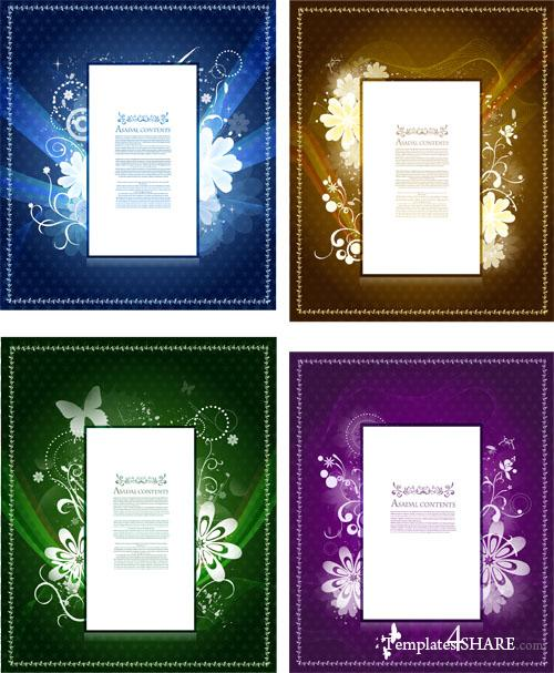 Decorative Vector Frames 187 Templates4share Com Free Web