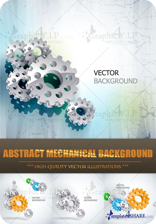 Abstract Mechanical Background - Stock Vectors[