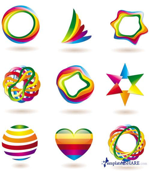 Colorful Vector Icons 8