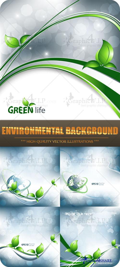 Environmental Background - Stock Vectors