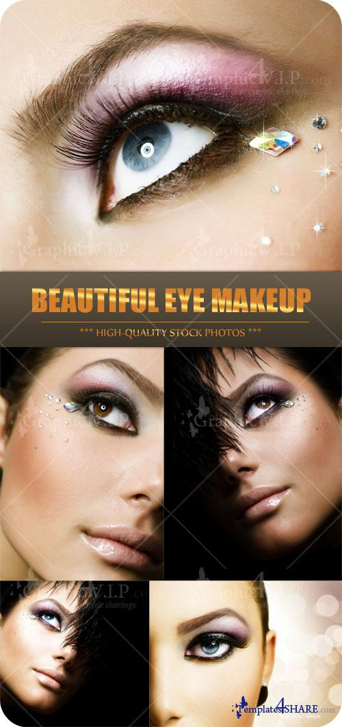 Beautiful Eye Makeup - Stock Photos