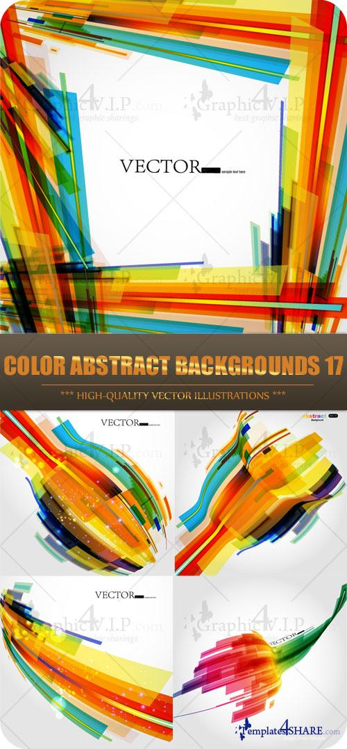 Color Abstract Backgrounds 17 - Stock Vectors