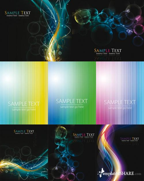 Colorful Abstract Vector Backgrounds 42