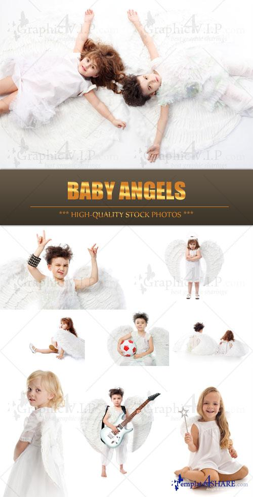 Baby Angels - Stock Photos