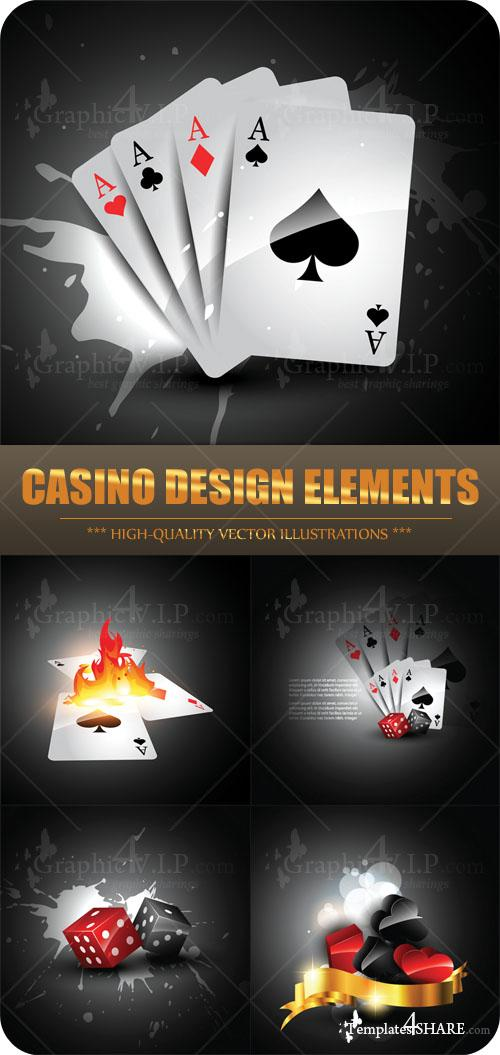 Casino Design Elements - Stock Vectors