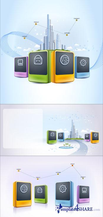 Business Concept Vectors 2