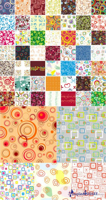 Seamless Vector Patterns Pack