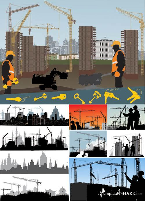 Building Vector Illustrations