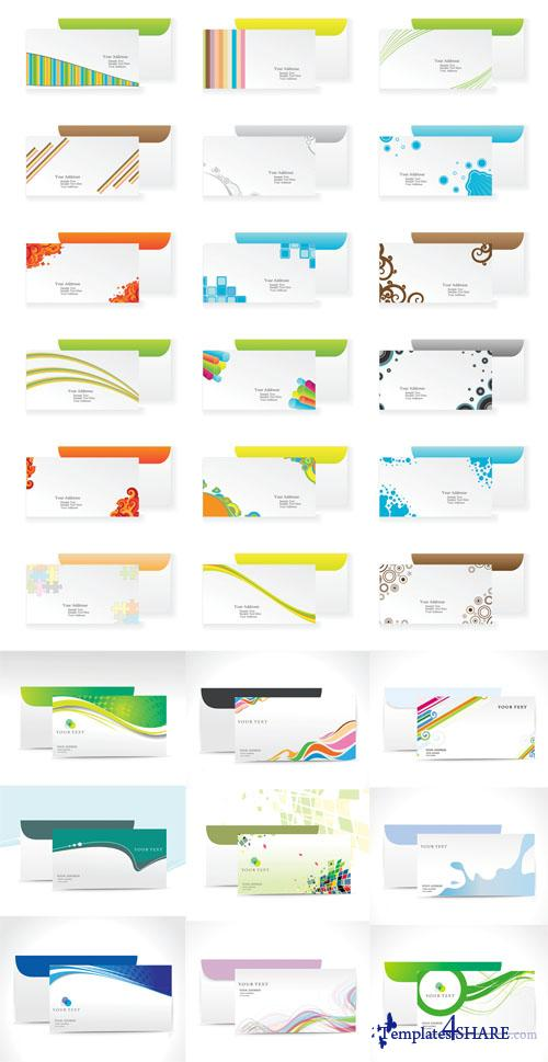 Vector Envelopes Collection