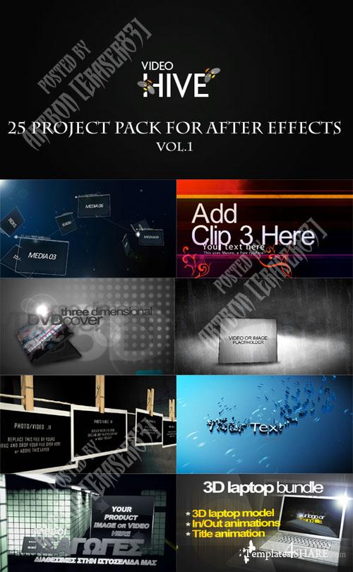 25 Project Pack for After Effects Vol.1 (Videohive)