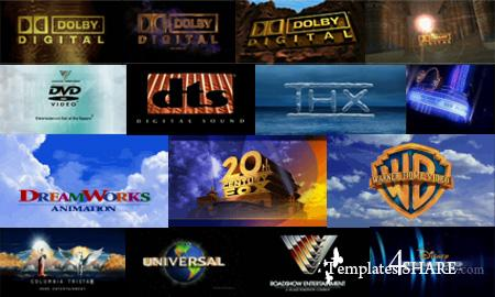 DVD Intro Trailers (Dolby Digital, DTS, Hollywood Studios)