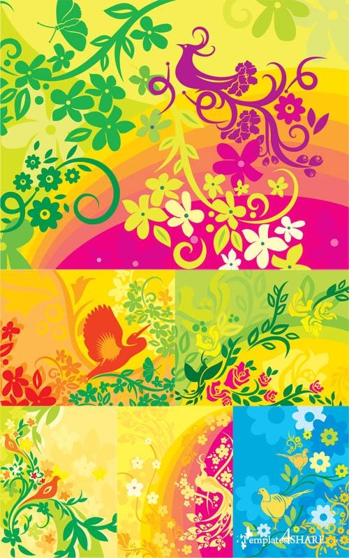 Ultimate Vector Backgrounds Collection