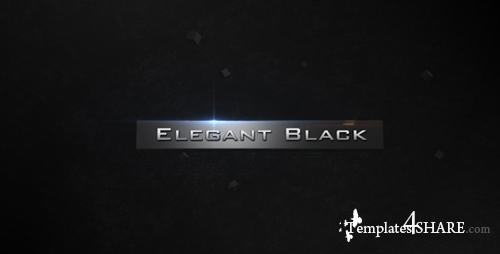 Elegant Black - Project for After Effects (Videohive)