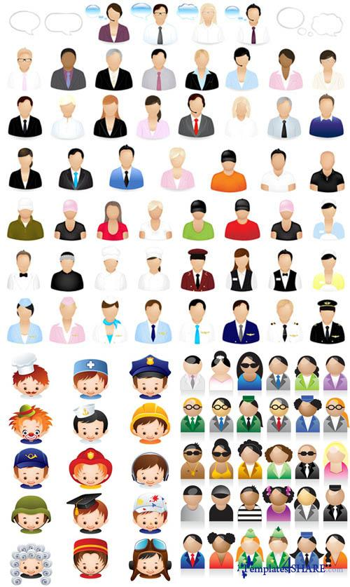 People Vector Icons 2