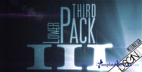 Lower Third Pack Vol.3 - Project for After Effects (Videohive)