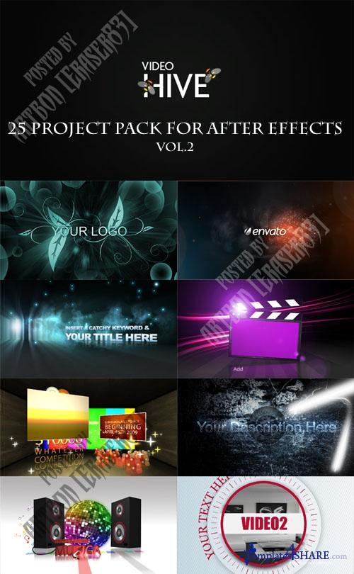 25 Project Pack for After Effects Vol.2 (Videohive)
