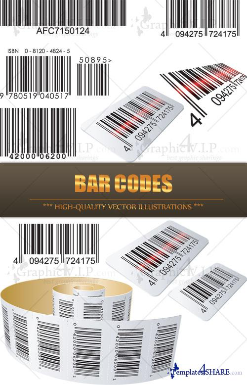 Bar Codes - Stock Vectors