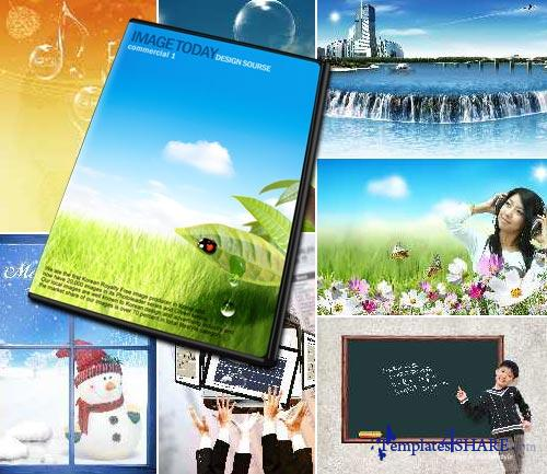 ImageToday Design PSD Source - Commercial 1