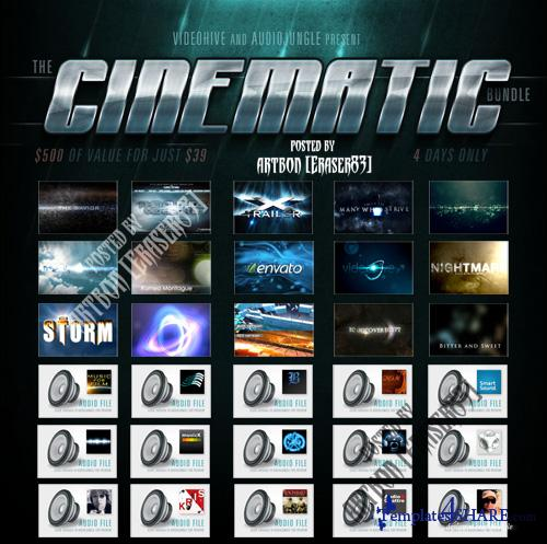 Cinematic Bundle - Projects for After Effects (Videohive)