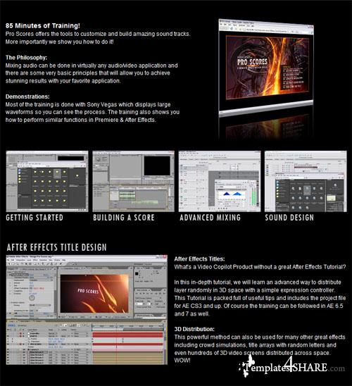 Video Copilot - Pro Scores (Cinematic Music Design Tools)