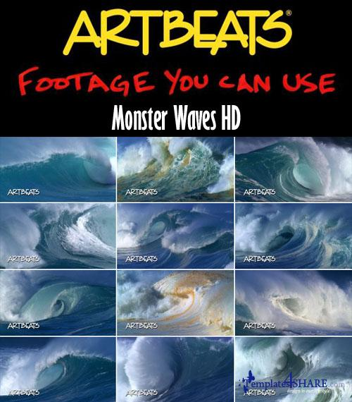 Nature: Monster Waves HD Footages (1080p)