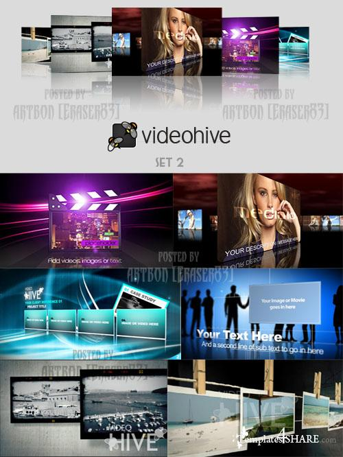 Videohive Projects Pack - Set 2