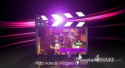 Elegant Movie Clapper - Projects for After Effects (Videohive)