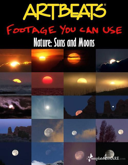 Nature: Suns and Moons Footages (NTSC)