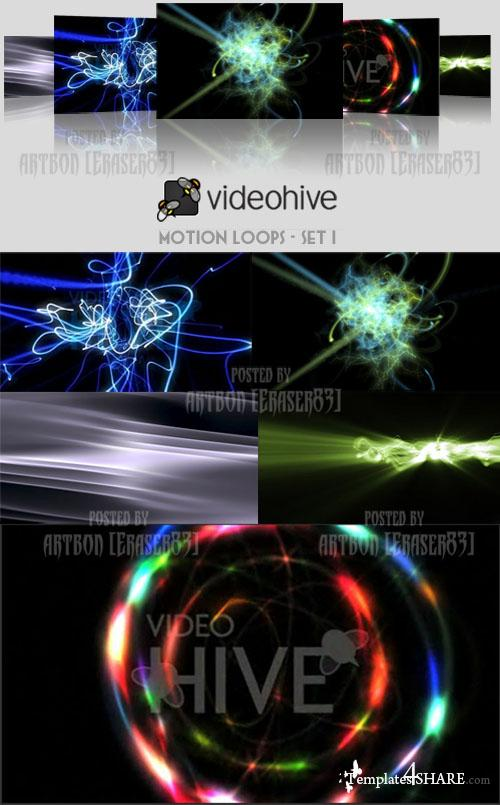 Videohive Motion Loops Pack - Set 1