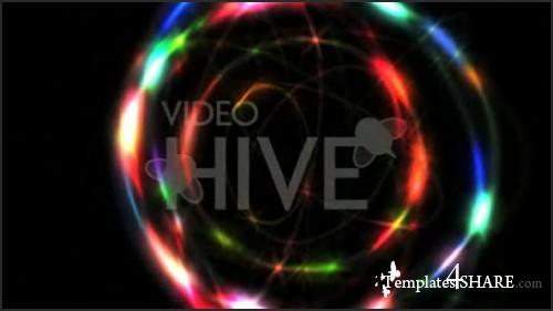 Dazzling Rainbow Rings (Videohive)