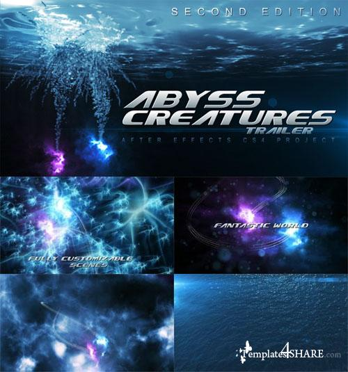Abyss Creatures Trailer - Projects for After Effects (Videohive)
