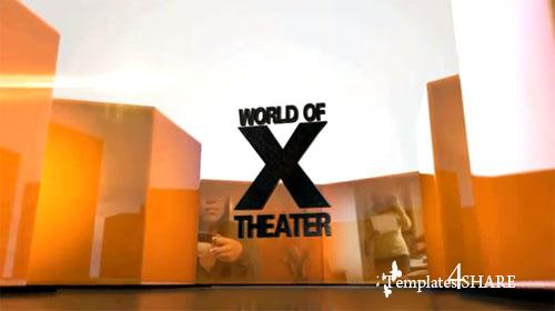 X-Theater - Projects for After Effects (Revostock)