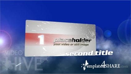 Titles Fly Through Clouds - Projects for After Effects (Videohive)