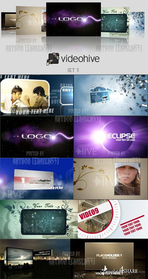 Videohive Projects Pack - Set 3