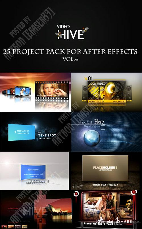 25 Project Pack for After Effects Vol.4 (Videohive)
