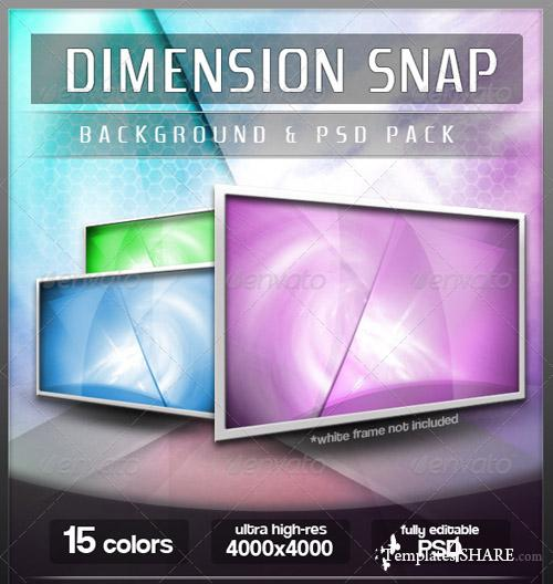 15 Ultra-High Res Abstract Backgrounds - PSD Templates (GraphicRiver)
