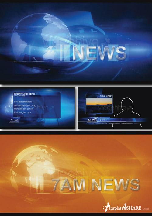 Broadcast Design - News Package - Projects for After Effects (Videohive)