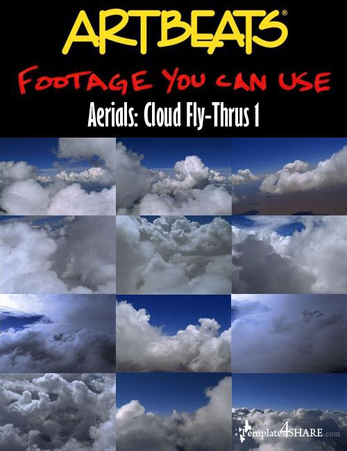 Aerials: Cloud Fly-Thrus 1 (NTSC)