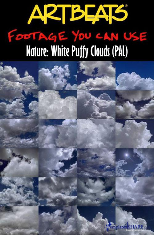 Nature: White Puffy Clouds (PAL)