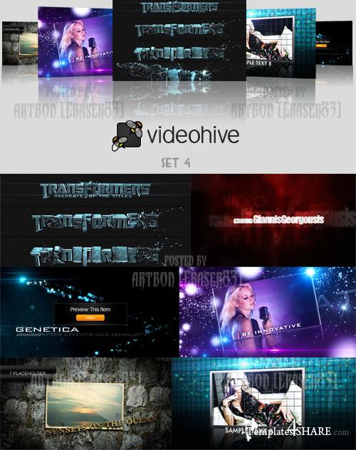 Videohive Projects Pack - Set 4
