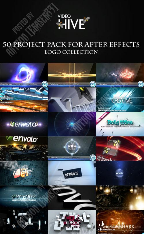 50 Project Pack for After Effects - Logo Collection