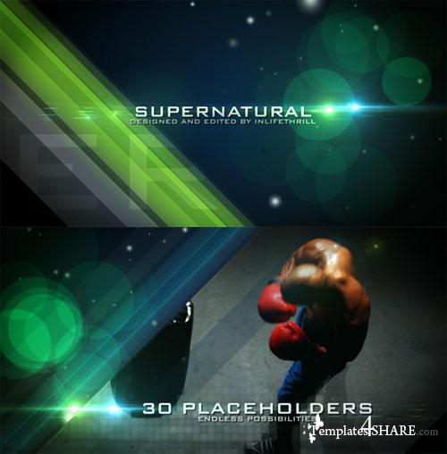 Supernatural - Project for After Effects (Videohive)