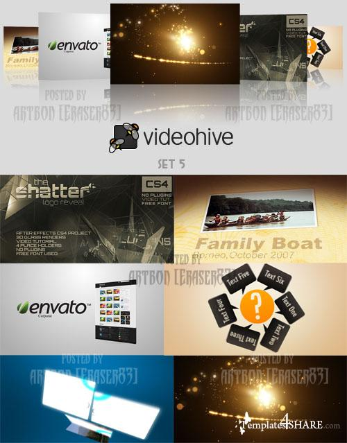 Videohive Projects Pack - Set 5