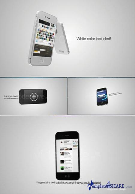 4G Phone Advertisement - Project for After Effects (Videohive)