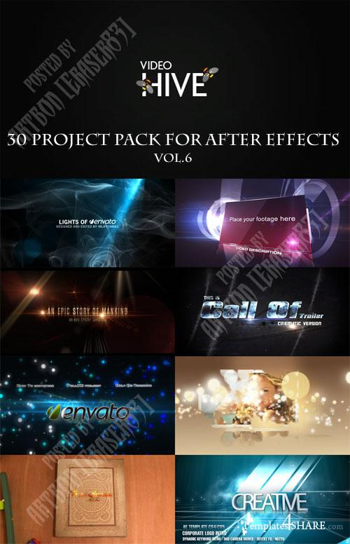 30 Project Pack for After Effects Vol.6 (Videohive)