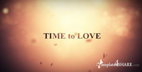 Time to Love - Project for After Effects (Videohive)