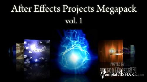 After Effects Projects Megapack (vol.1)