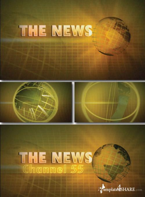 News 55 Channel - Project for After Effects