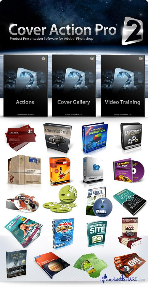 Cover Action Pro 2 for Adobe Photoshop (DVD FULL)