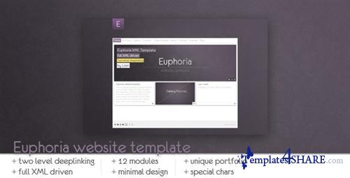 ActiveDen - Euphoria Website Template